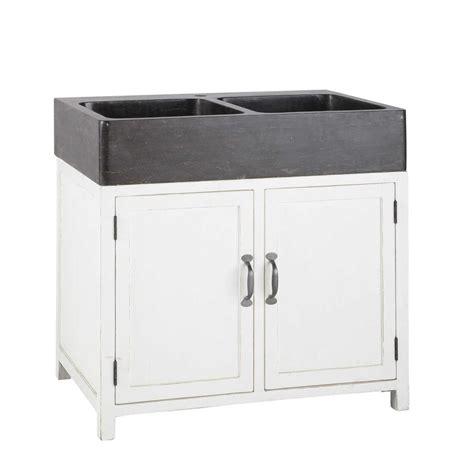 mobile con lavello da cucina mobile basso bianco da cucina in legno riciclato con