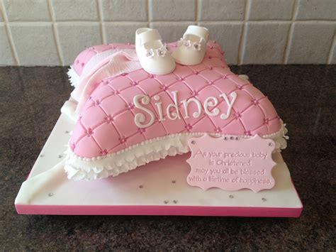 christening pillow cake cakecentralcom