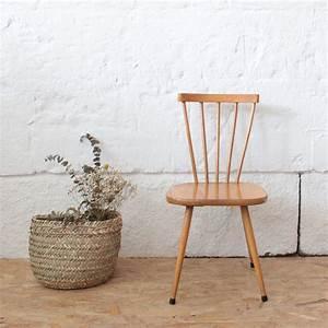 Chaise Enfant Vintage : chaise enfant bois vintage atelier du petit parc ~ Teatrodelosmanantiales.com Idées de Décoration