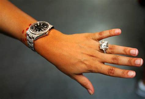 shantel jackson engagement ring celebrity rings