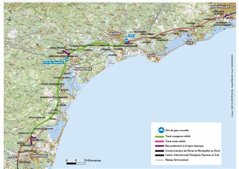 Carte Sud Montpellier by Lnmp Le Minist 232 Re Valide Un Trac 233 Transportrail Le
