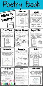 poetry booklet template - 25 best ideas about poetry anchor chart on pinterest