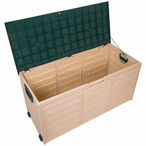 starplast outdoor garden plastic storage utility chest With katzennetz balkon mit garden storage box