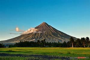 Mayon Volcano Hd Wallpaper