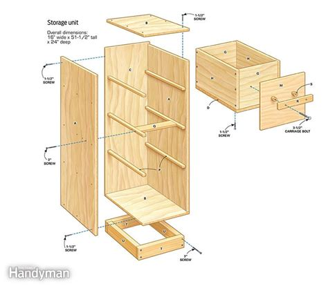 diy garage storage super sturdy drawers  family handyman