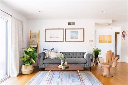 Eclectic Couch Sofa Modern Apartment Therapy Colorful