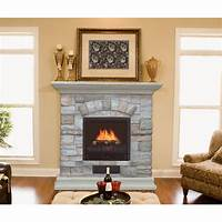 electric stone fireplace Stone electric fireplace - these choices at your ...