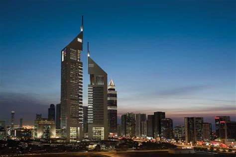 Dubai Skyscraper Uae Towers Tall Buildings E Architect