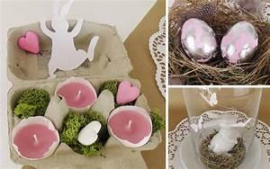 Deko Kitchen Shop : diy osterdeko mit schlagmetall eiern und eierschalenkerzen deko kitchen ~ Orissabook.com Haus und Dekorationen