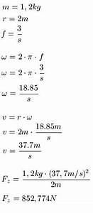 Geschwindigkeit Berechnen Aufgaben : kreisbewegung und zentripetalkraft aufgaben und l sungen ~ Themetempest.com Abrechnung