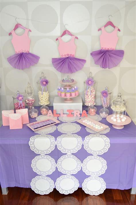 decorations for a baby shower ballerina theme bar baby shower tutu