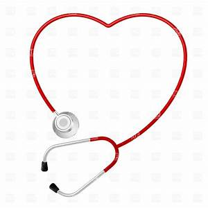 Medical clipart heart stethoscope - Pencil and in color ...