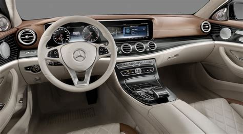 mercedes classe e interieur mercedes classe e 2017 l int 233 rieur luxury car magazine