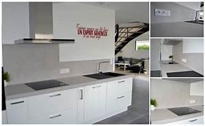 Vernis Béton Ciré : cuisine b ton cir vernis mat orvault peintre d corateur ~ Premium-room.com Idées de Décoration
