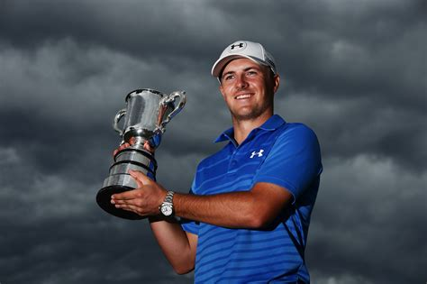 The Official Website of Jordan Spiethjordanspiethgolf.comThe Jordan Spieth Family Foundation.... 2016 Emirates Australian Open. The world No.5 drained a pressure putt on his 72nd hole of the tournament to squeeze into a three-way play-off with Australians Ashley Hall and Cameron Smith, then duly banked an uphill 15-footer for birdie to win a gripping tournament after the trio had trudged back up the 18th. Read moreThe Jordan Spieth Family Foundation. How to Contact Us. Top Tournaments. 2017 Open Championship. Spieth played the final five holes in 5 under and closed with a 1-under 69 for a three-shot victory over Matt Kuchar, giving him the third leg of the career Grand Slam and a chance to be the youngest to win them all next month at the PGA Championship.... 2016 Emirates Australian Open. The world No.5 drained a pressure putt on his 72nd hole of the tournament to squeeze into a three-way play-off with Australians Ashley Hall and Cameron Smith, then duly banked an uphill 15-footer for birdie to win a gripping tournament after the trio had trudged back up the 18th. Hide(document.querySelector(