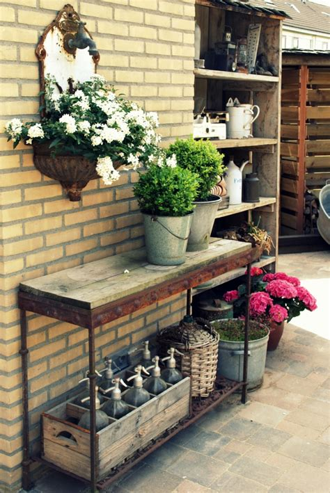 Wohnen Und Garten Deko by Vintage Deko L 228 Sst Den Garten Charmanter Und Weiblicher