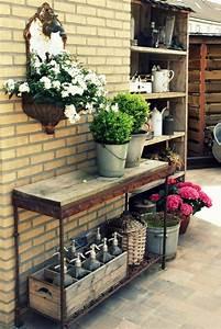 Wanddeko Für Garten : vintage deko l sst den garten charmanter und weiblicher ~ Watch28wear.com Haus und Dekorationen