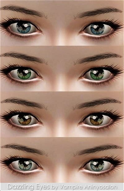 My Sims 3 Blog: Dazzling Eyes -non default- by Vampire ...