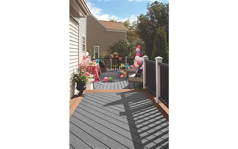 trex enhance composite decks  decking materials trex