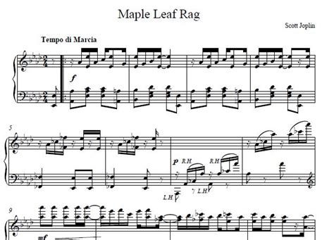 Sign up now or log in to get the full version for the best price online. Maple Leaf Piano Sheet Music, Maple Leaf Music Score