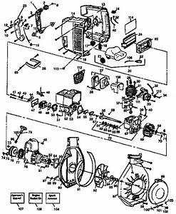 Craftsman Model 358797983 Blower  Gas Genuine Parts