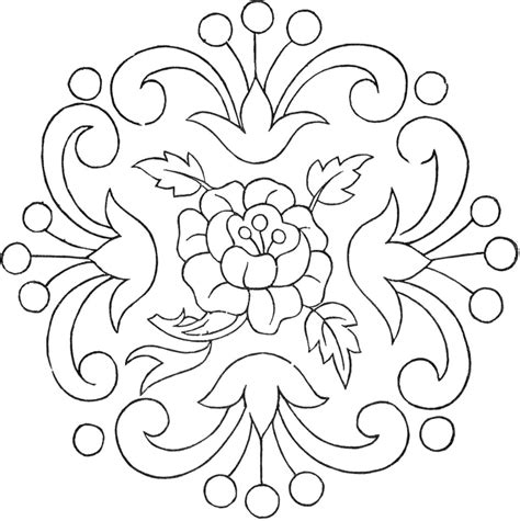 Florale Muster Kostenlos by Vintage Floral Embroidery Pattern The Graphics