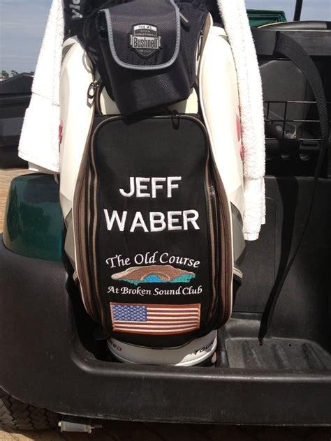 embroidered golf bag   professional  broken sound