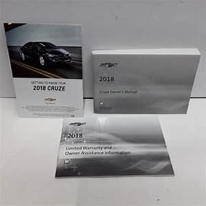 2018 Chevrolet Cruze Owners Manual  Guide
