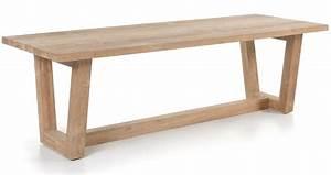 Table En Teck Massif : table en vieux teck massif 250 cm dundee ~ Teatrodelosmanantiales.com Idées de Décoration