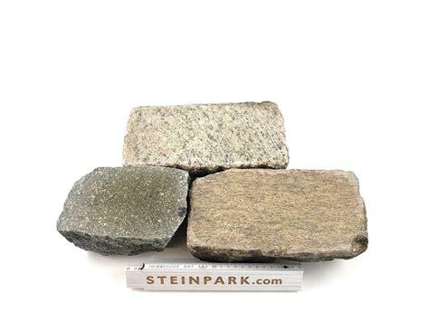edel granit pflasterplatte   cm rot bunt regelmaessig