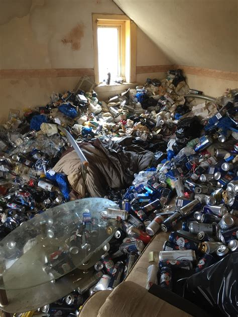 maidstone landlord returns  flat buried  empty cans