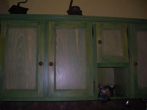 cuisine amenagee faux bois cérusé peint sur cuisine aménagée photo de i