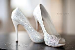 shoes for a wedding sparkly peep toe wedding heels wedding shoes
