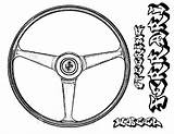 Steering Wheel Coloring Pages Ferrari Parts Drawing Getdrawings Place Drawings Printable Getcolorings Button Using sketch template