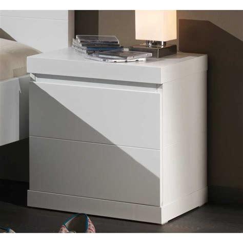 chevet de chambre chevet blanc laqué pour chambre enfant