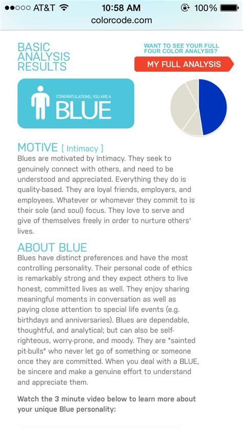 color code personality blue color code personality 5 languages color