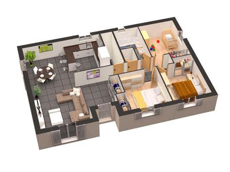 chambre à coucher maison du monde plan maison plain pied 3d gratuit