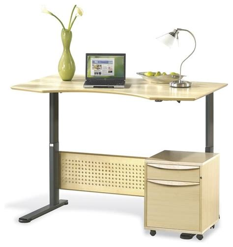 jesper height adjustable sit stand table 63