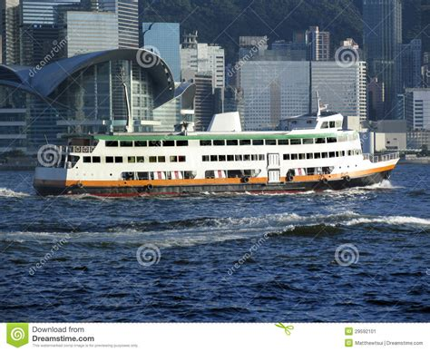 Ferry Boat Usage by Hong Kong Ferry Boat Stock Image Image Of Hong Harbour