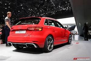 Audi Rs3 Sportback : geneva 2017 audi rs3 sportback facelift gtspirit ~ Nature-et-papiers.com Idées de Décoration