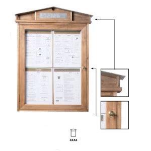 porte menu exterieur occasion porte menu en bois avec 233 clairage led