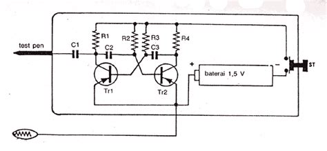 Jammer Circuits Audio Noise Generator
