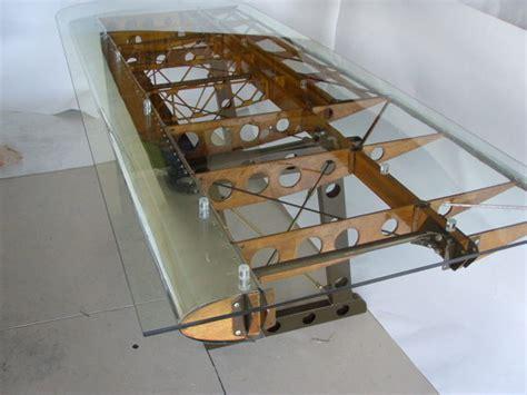 airplane wing desk custom bi plane desk by michael rosentrater via behance