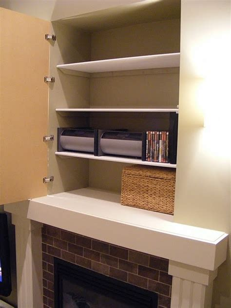 Using a weird hole in your house (here a nook above a