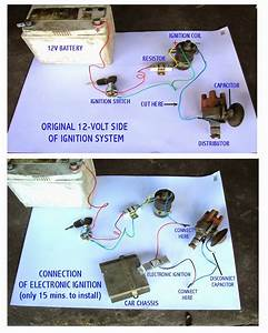 Wiring Diagram Of Ignition System In A 3k 4k 5k Engine