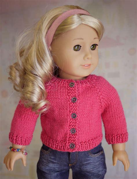 sweater knitting pattern doll cardigan sweater knitting pattern