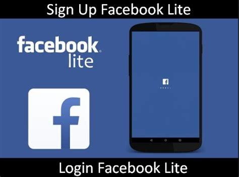 fb lite login or sign up appsng