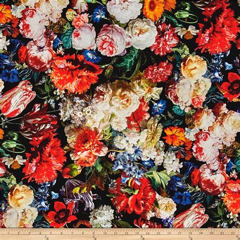New Look Floral Design by Mastery Digital Print Hoffman Challenge Floral Blooms