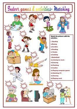 esl door worksheets