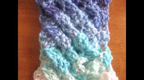woven shell crochet stitch crochet tutorial youtube